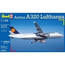 Купить Сборная модель пассажирского самолета Revell Airbus A320 Lufthansa