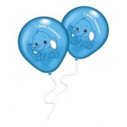 фото Набор воздушных шаров Everts «Слоненок». Цвет: голубой