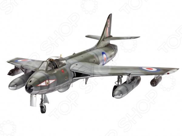 Сборная модель самолета-перехватчика Revell Hawker Hunter FGA.9 F.58