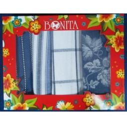 фото Комплект из 4-х полотенец подарочный BONITA «Виноград»