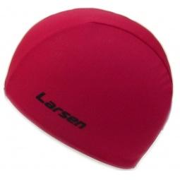 фото Шапочка для плавания Larsen 3220D. Цвет: красный