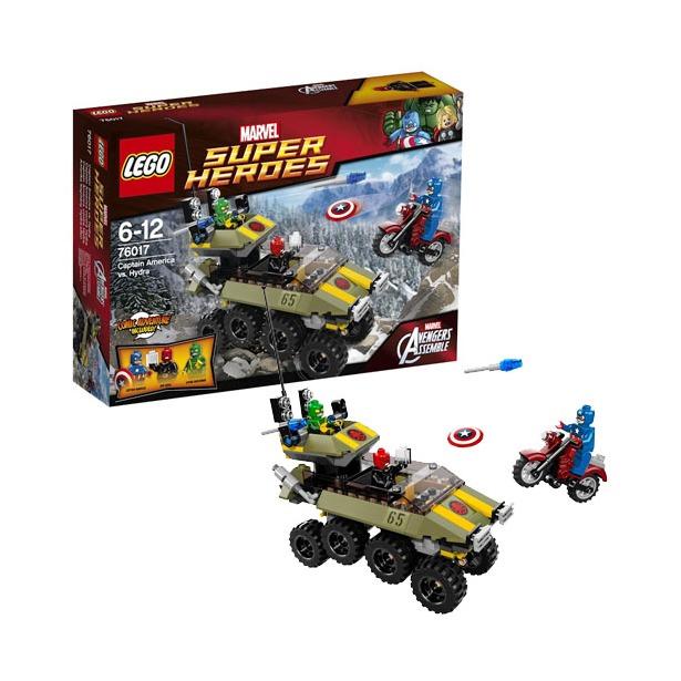 фото Конструктор LEGO Капитан Америка против Гидры