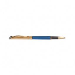 фото Ручка-роллер Erich Krause Regal 124. Цвет корпуса: золотой, синий
