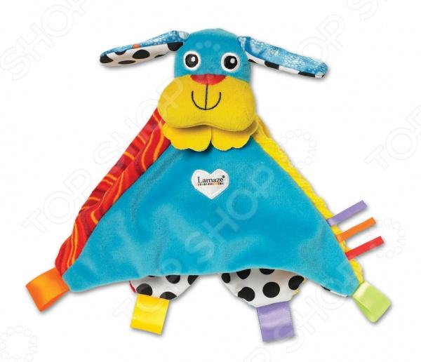 Погремушка-платочек Tomy «Собачка Пиппи» игрушка tomy lamaze собачка пиппи то27625