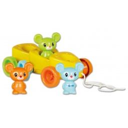 Купить Каталка Tomy «Веселые мышата»
