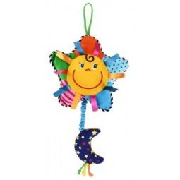 фото Игрушка подвесная музыкальная Жирафики «Солнышко»