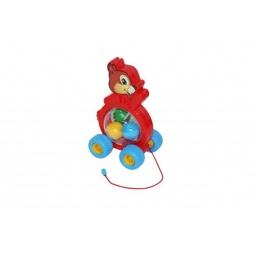 фото Каталка на веревочке для малыша Полесье «Бурундук» 54449