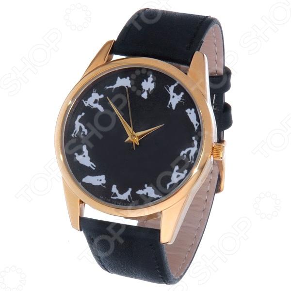 Часы наручные Mitya Veselkov «Камасутра - силуэт» Gold
