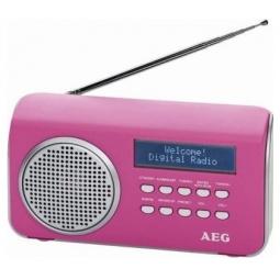 фото Радиоприемник AEG DAB 4130. Цвет: розовый