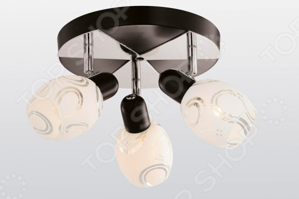 Светильник потолочный Rivoli Gamma-C-3 это светильник, способный служить как дополнительным, так и основным источником света в небольшой комнате . Потолочный светильник подходит для комнаты с низким потолком, поскольку занимает совсем немного места. Дизайн светильника это важный акцент интерьера. Вместе с бра или подсветкой он создает интересный световой ансамбль, преображающий комнату.