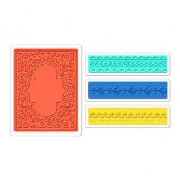 фото Набор форм для эмбоссирования Sizzix Textured Impressions Марокканский набор