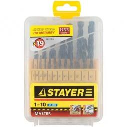 фото Набор сверл по металлу Stayer Master 2961-H19_z01