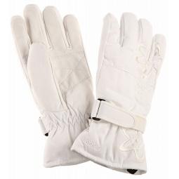 Купить Перчатки горнолыжные GLANCE Joy Hydrotex (2012-13). Цвет: белый