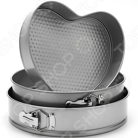 Набор форм для выпечки Mayer&Boch MB «Сердце и круг» набор форм для выпечки mayer and boch mb 3913