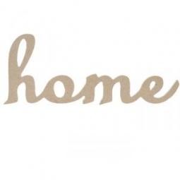 Купить Надпись для декупажа Кустарь «HOME»