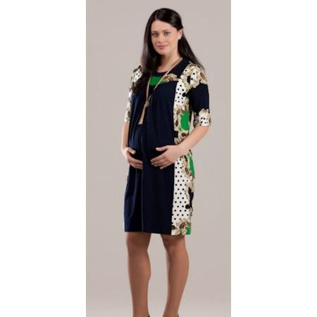 Купить Платье для беременных Nuova Vita 2144.3. Цвет: зеленый