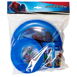 фото Набор посуды для детей Disney «Человек-паук»