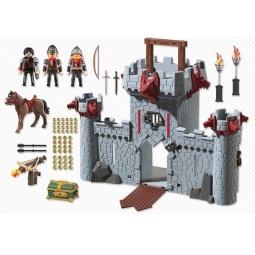 фото Конструктор игровой Playmobil «Черный замок Барона. Супер 4»