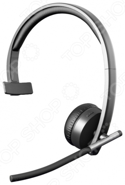 Гарнитура Logitech Wireless Headset H820e MONO беспроводная гарнитура logitech wireless headset h820e mono 981 000512