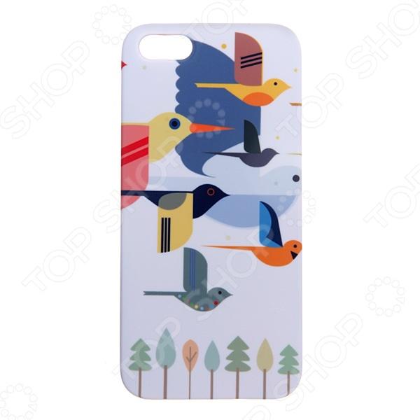 Чехол для iPhone 5 Mitya Veselkov «Птицы»