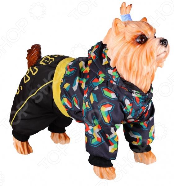 Комбинезон для собак DEZZIE 563556 триол комбинезон зимний микки для собак trio l
