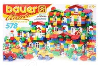 Конструктор игровой Bauer Classik 23084 bauer конструктор classik 578 элементов 201