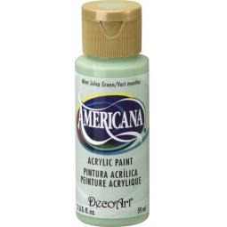 фото Краска акриловая DecoArt Премиум Americana. Цвет: мятный зеленый