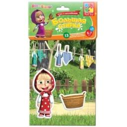 фото Игра обучающая Vladi Toys с наклейками «Большая стирка»