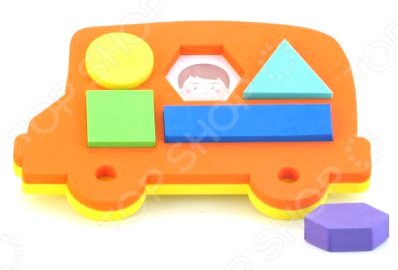 Игрушка-сортер развивающая El Basco «Автобус» jia le toys автобус сортер