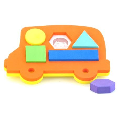 Купить Игрушка-сортер развивающая El Basco «Автобус»
