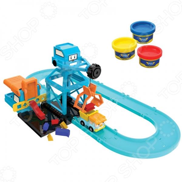 Набор игровой для мальчика Poli «Цементный завод» poli игровой набор мойка