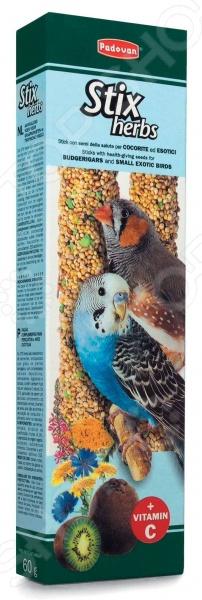 Лакомство для птиц Padovan 01418 «Палочки антистрессовые с травами»