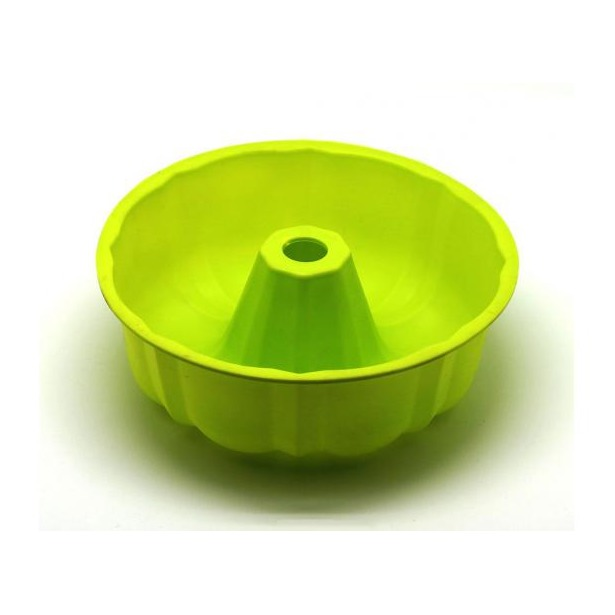 фото Форма для выпечки силиконовая Atlantis «Шарлотка» SC-BK-002. Цвет: салатовый