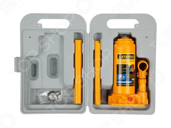 Домкрат гидравлический бутылочный Stayer Profi 43160-K домкрат белак бак 00026 2т