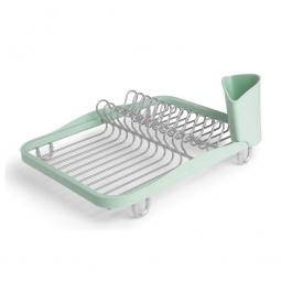 фото Сушилка для посуды Umbra Sinkin Dish. Цвет: салатовый