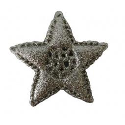 фото Украшение-подвес новогоднее Феникс-Презент «Звездочка». Цвет: золотистый