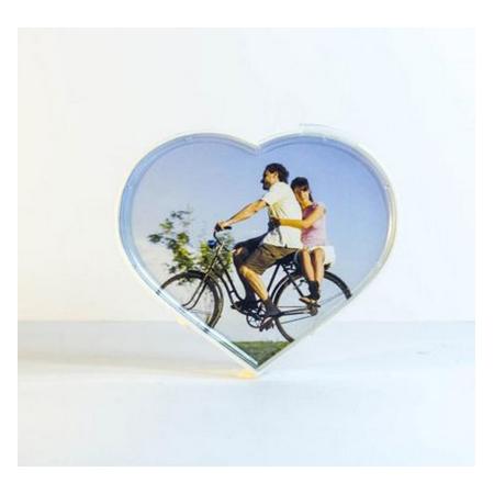 Купить Фоторамка вращающаяся 31 ВЕК «Два сердца»