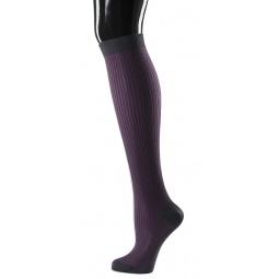 фото Носки женские Teller Knee High Rib. Цвет: серый