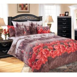 фото Комплект постельного белья Королевское Искушение «Прага». 2-спальный. Размер простыни: 220х240 см