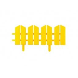 фото Бордюр декоративный Grinda «Летний сад» 422225. Цвет: желтый