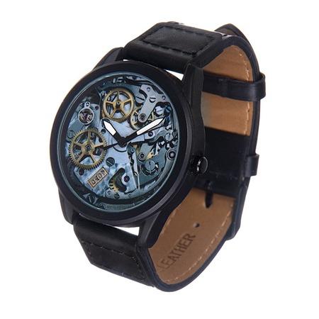 Купить Часы наручные Mitya Veselkov «Часовой механизм» MVBlack