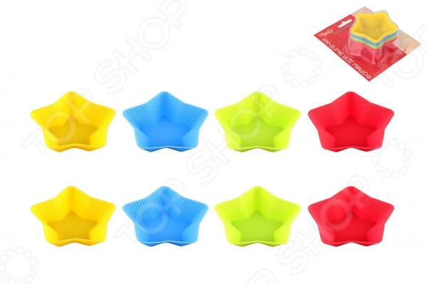 Набор форм для кексов Elan Gallery «Звезда»