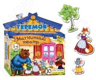 лучшая цена Игра развивающая для малыша Vladi Toys «Магнитный театр. Теремок»