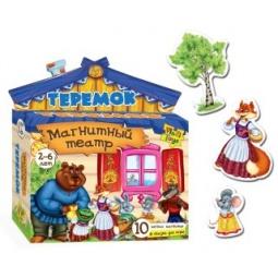 Купить Игра развивающая для малыша Vladi Toys «Магнитный театр. Теремок»