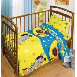 Купить Детский комплект постельного белья Непоседа Лунные качели