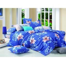фото Комплект постельного белья Amore Mio Lilya. Provence. 1,5-спальный