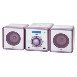 фото Микросистема AEG MC 4455. Цвет: розовый