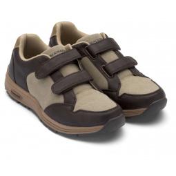 Кроссовки адаптивные Walkmaxx женские. Цвет: коричневый