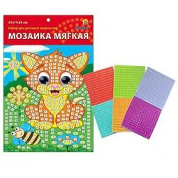 фото Мозаика для ребенка Рыжий кот мягкая «Кошка»