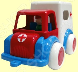 Машинка игрушечная Форма «Скорая помощь ДС»